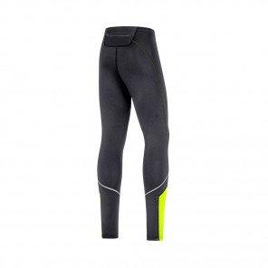 GORE® Collant R3 Mid Homme | Black/Neon Yellow