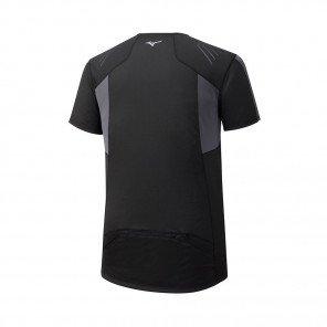 MIZUNO Tee-Shirt Trail manches courtes ENDURA TRAIL HZ Homme | Black